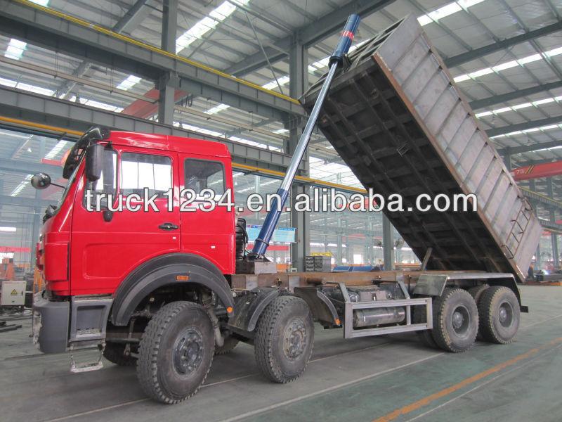 SHACMAN Left Hand Drive Tipper Truck