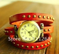 "Наручные часы TOP quality! Punk Cow Leather Watch, Alloy Case 100% Excellent Quality ""$5 off per $50 order"