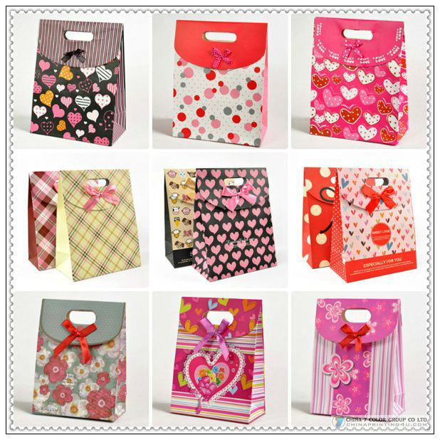 Elegant Simple Luxury High Quality Paper Bags