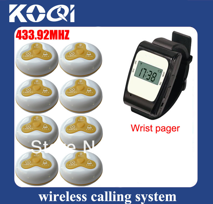 Catering services wireless pager wireless service bell call system .jpg