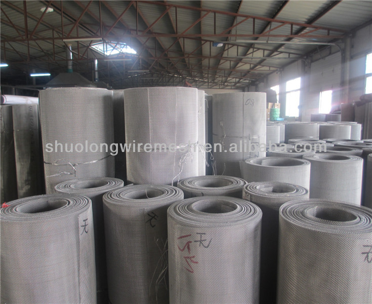 SL black corrugated steel mesh sheet