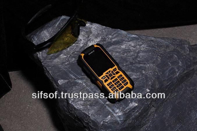 """SIFPRUG-3 Seals TVR7 IP67 Waterproof,dustproof,shockproof 2""""TFT 2MP GPS RAM 1GB Dual SIM Bluetooth Rugged Phone"""