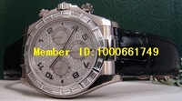 Наручные часы Professional watch.2008 RARE Watch Daytona Full PAVE Diamond Baguette