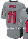 Дешевые соколы #11 Хулио jones Элитная американская мода футбол Джерси купить 10 шт