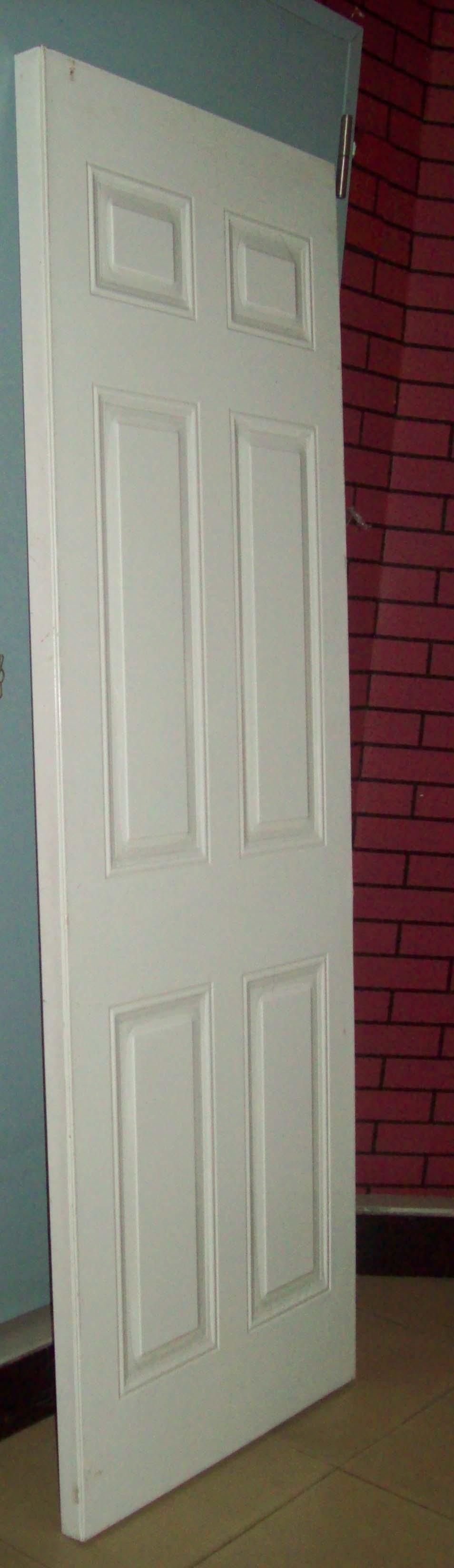 Interior And Exterior Hollow Metal Utility Door Pre Hung Steel Door With Meta