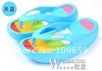 Free shipping fashion ladies' slipper,women beach slipper wedge heels and flip flops/Summer sandals CY-02-04