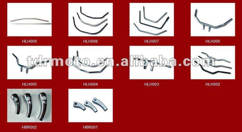 aluminium alloy Motorcycle handle bar in cheap price