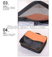 Детали и Аксессуары для сумок Hot selling Travel folding clothing pack bag travel handle garment pack kit 3pcs/lot factory directory