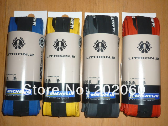 MICHELIN LITHION 2 tires for road bike.JPG
