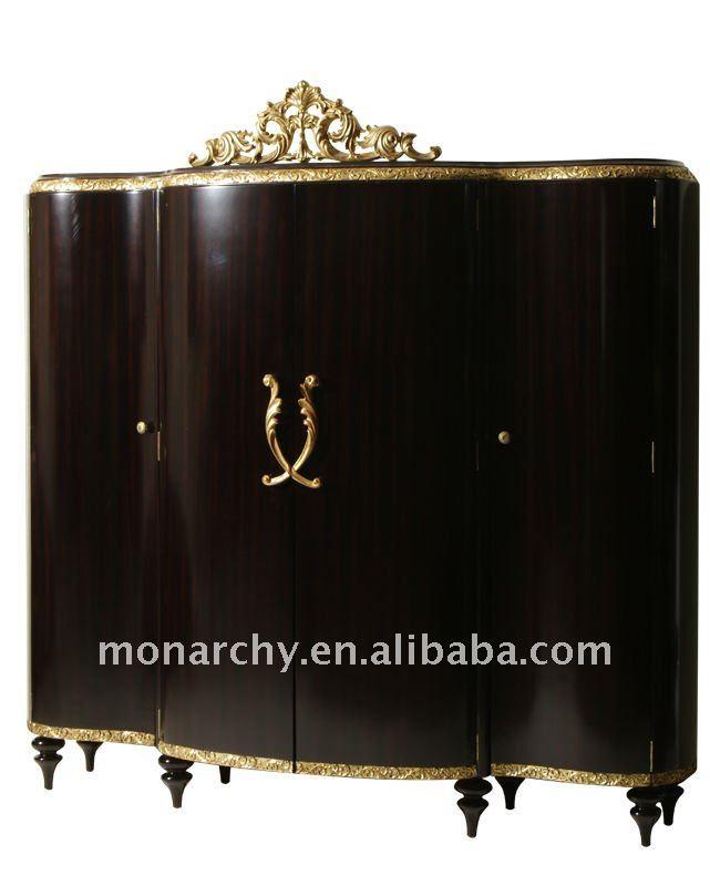 B601D-19/20/21 italian antique bed room furniture