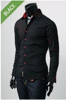 Free shipping,PROMOTION,South Korean Men's Dress Shirts,Hot Sale Men's Business Shirt,Asia:M-XXL