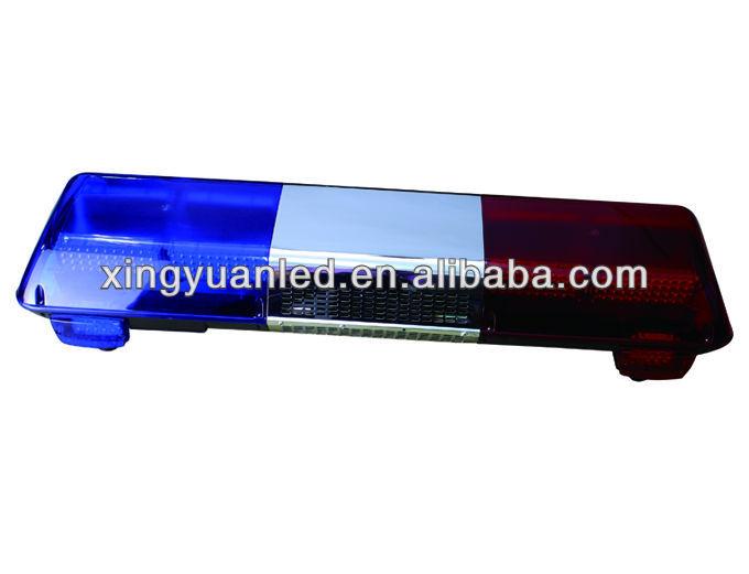 Police Light Bars >> Red And Blue Police/ Ambulance Car Led Emergency Warning ...