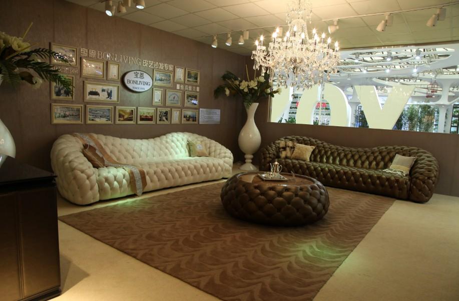 Luxe Design Italien Haute Retour Chesterfield Canap En Cuir Autres Meubles Antiques Id De