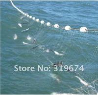 Рыболовная сеть Fishing Fish Trap 24M x 1.4M Monofilament 3 Layers Gill Net