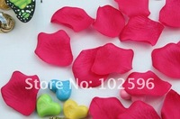 Лепестки роз New Rose Red Silk Petals for Wedding Party Festival Decoration Hand Throwing Flowers 1000PCS/lot