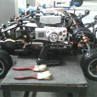 Запчасти и Аксессуары для радиоуправляемых игрушек TS 1/5 HPI Baja 5B H66015