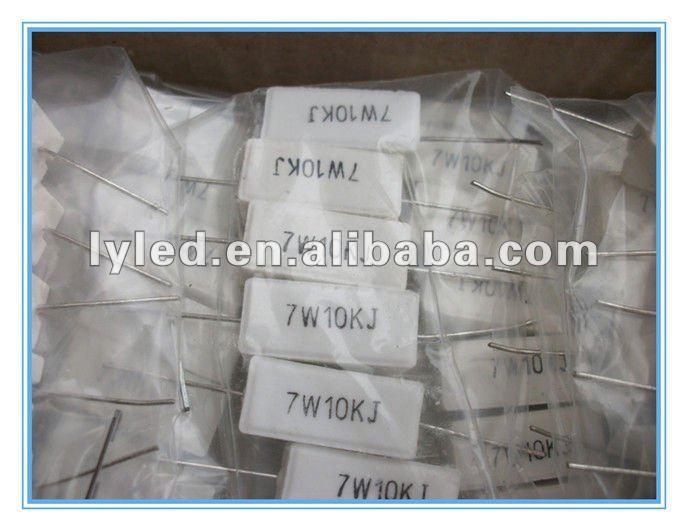 7W 10K ceramic resistor