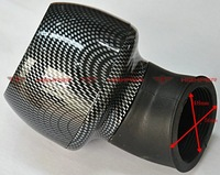 48MM Carbon Air Filter For Scooter,Motorcycle And Atv+free shipping
