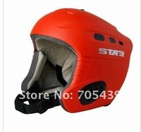Защитный спортивный шлем Europe and America adult/children skiing helmets (red/blue 2 color