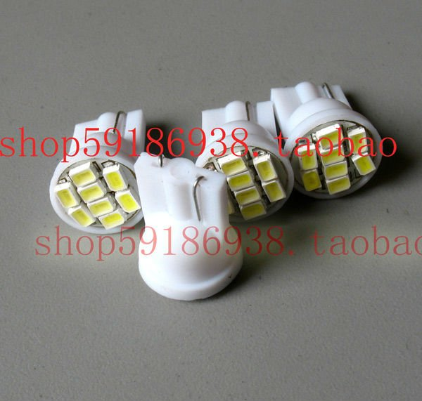Wholesale 100pcs/lot white T10 194 168 192 W5W 3258smd 8 smd super bright Auto led car led lighting/t10 wedge led auto lamp1
