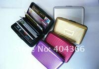 Визитница 2pcs Aluminum Wallet/Credit Card Case business card case aluminum wallet