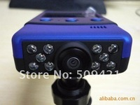 Автомобильный видеорегистратор 2012 Brand new 720P HD, 10 IR LED, 2.4 inch screen, 360 rotation, 8X digital zoom, P7000