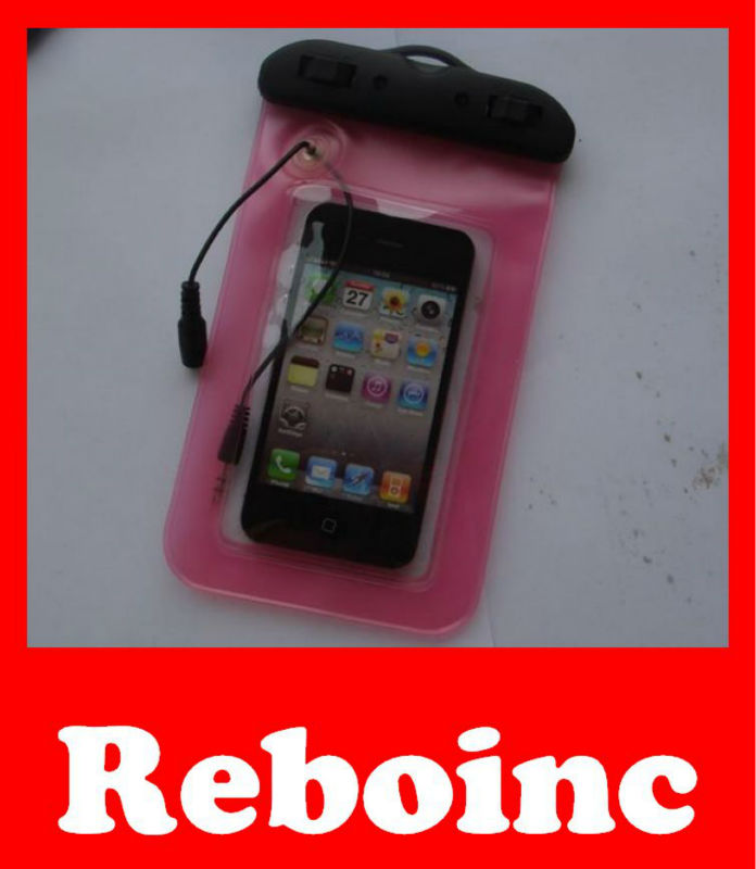 PVC waterproof phone bag for cellphone,camera packing D-W031