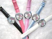 Наручные часы 50pc s hello kitty Watch Popular fashion hellokitty watch
