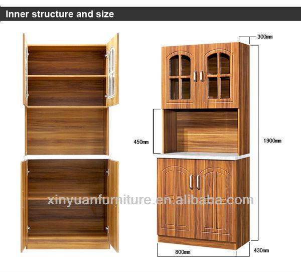 K812 moderne 2 base de porte portable pas cher d 39 armoires for Armoire de cuisine pas cher