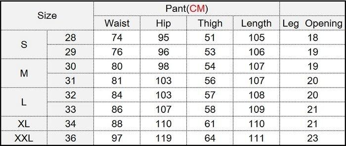 Размеры мужских джинсов доставка