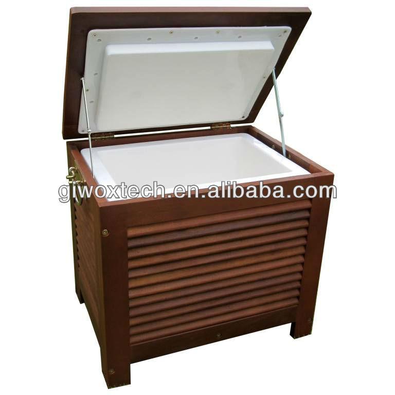 Patio Table With Cooler Hot vendedor caixa De Madeira cooler com as pernas para ...
