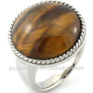 stainless steel vampire ring