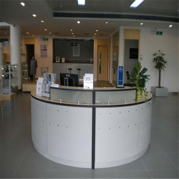 hermosa recepcion moderno rception escritorios para el saln