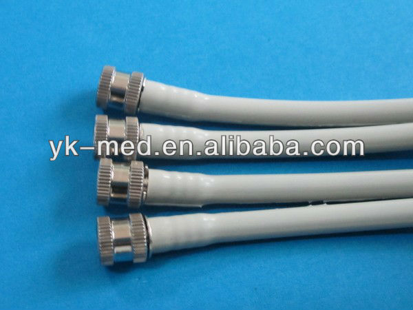GE two tubes matel nibp cuff connector