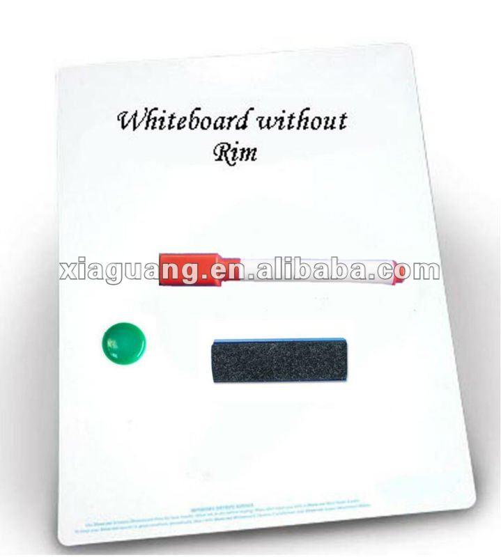 Writable Printed children whiteboard magnet