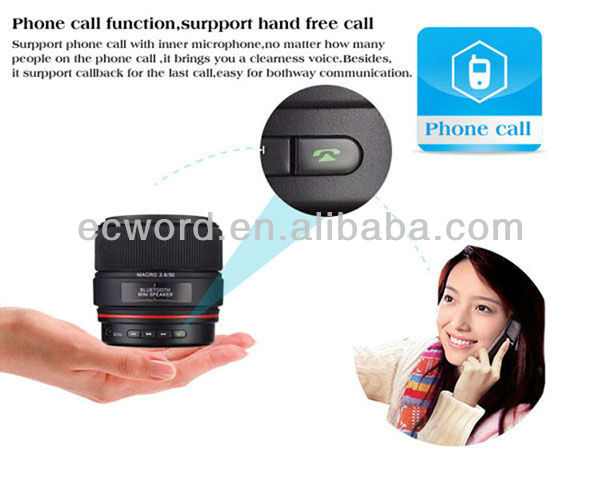 For HYUNDAI i300 Lens Portable Bluetooth Speaker
