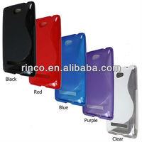 Чехол для для мобильных телефонов 10pcs/lot Soft Gel S Line TPU Silicon Skin Case Cover for HTC Windows Phone 8S A620e