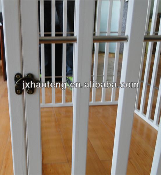 Hot seller family pine solid wood dog pen wholesale HT/1303850