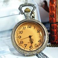 Карманные часы на цепочке Coffee glass  W00117
