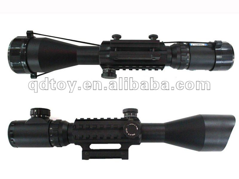 4-12*50EG Hunting Riflescopes with red dot and green dot illuminated led