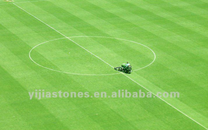 Bicolor 50MM Synthetic Grass for Football Field