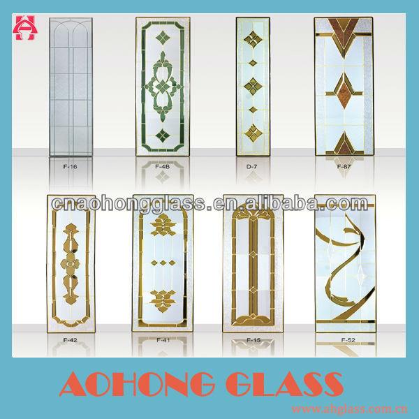 Stained glass interior puertas cristal de construcci n - Cristales decorativos para puertas de interior ...