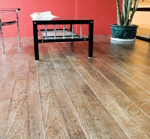 High Quality Outdoor Wood Grain Laminate Flooring Hpl
