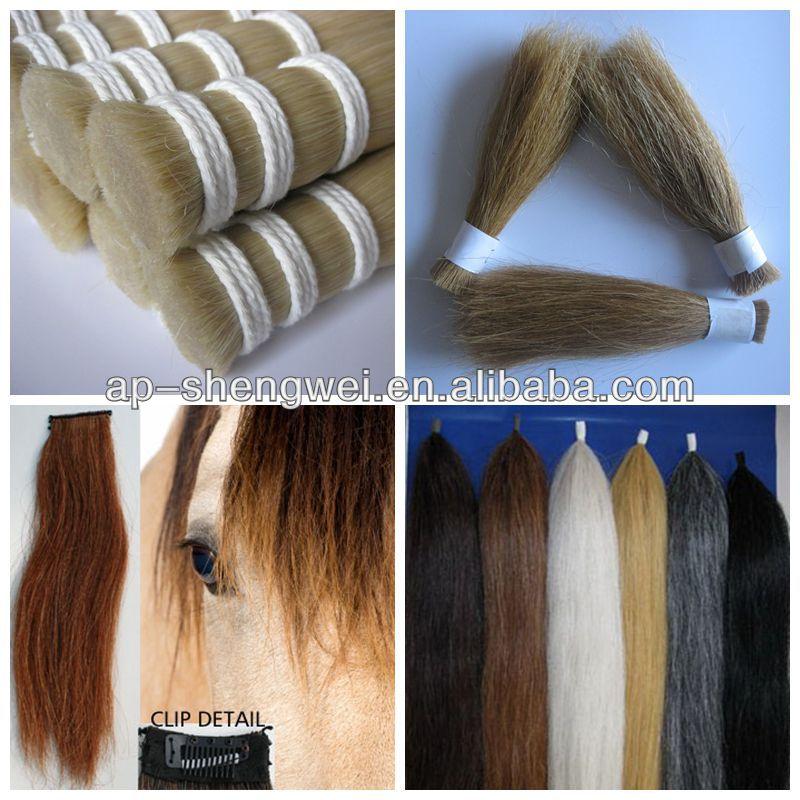 Black Horse Hair Extension Hank Productschina Black Horse Hair