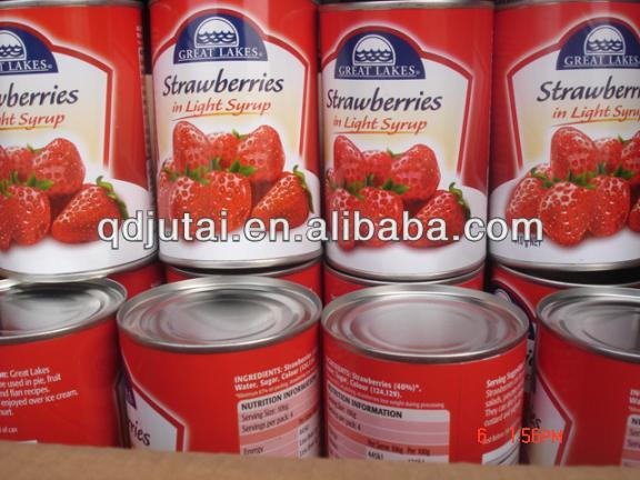 24/425 can strawberry canned food