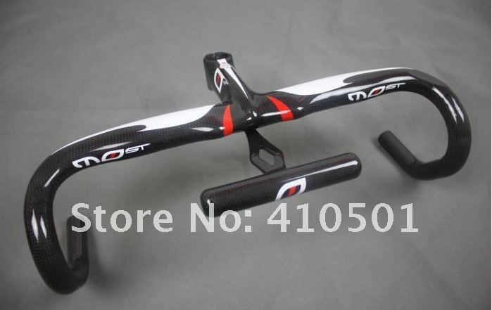 FREE SHIPPING MOst TALON Full carbon fiber/road 42X110/44x110mm Integrated handlebar Stem