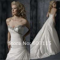 Свадебное платье MSWD157 Colored Allure Strapless Sweetheart Ball Gown Wedding Dress