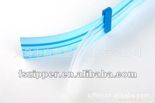 PE vacuum bag zipper slider,PE hermetic seal zipper slider(Factory Direct Sale)