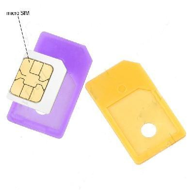 New 20 pcs/lot Micro SIM Adapter for Mobile Phones 901742-AP-0009 Free shipping good