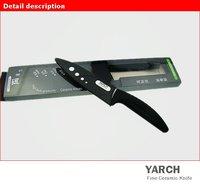 yarch Кухонная утварь, 5 «керамический нож с ножнами + розничной коробке, 2 цвета ручка выбора. 2 шт/много, ce сертифицированы fda